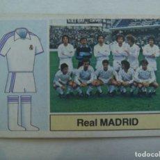 Cromos de Fútbol: CROMO DE FUTBOL DE LA LIGA 1982 - 83 , EDICIONES ESTE : ALINEACIONES , REAL MADRID. Lote 278442573