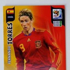 Cromos de Fútbol: FERNANDO TORRES ESPAÑA CROMOS ADRENALYN MUNDIAL FUTBOL SOUTH AFRICA 2010 FIFA WORLD CUP PANINI. Lote 255924875