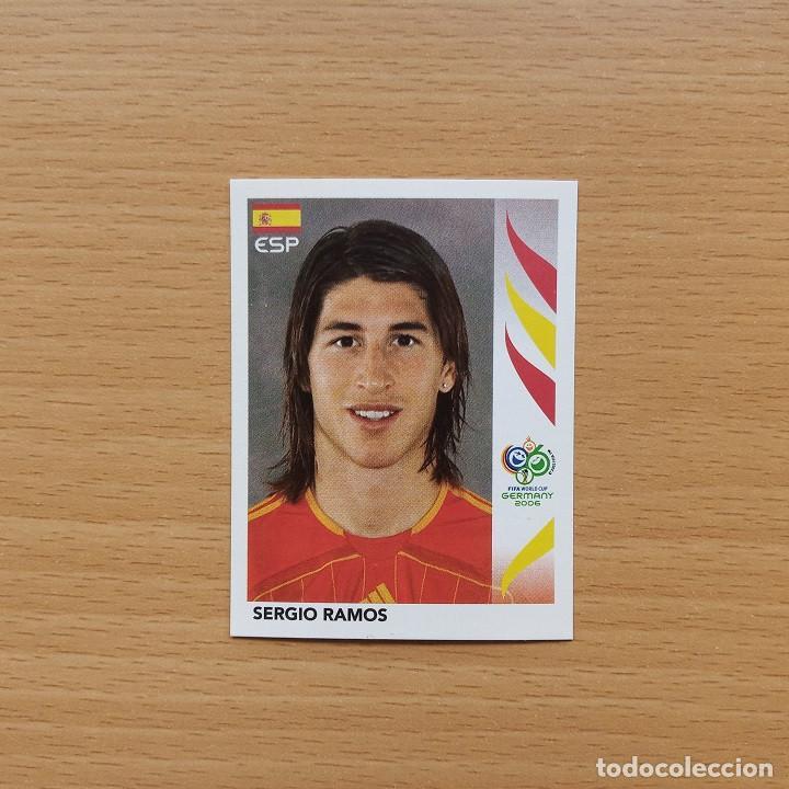 538 ROOKIE CARD ESPAÑA SERGIO RAMOS FIFA WORLD CUP GERMANY 2006 MUNDIAL FUTBOL ALEMANIA PANINI NUEVO (Coleccionismo Deportivo - Álbumes y Cromos de Deportes - Cromos de Fútbol)