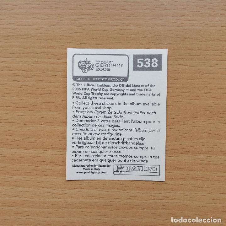 Cromos de Fútbol: 538 ROOKIE CARD ESPAÑA SERGIO RAMOS FIFA WORLD CUP GERMANY 2006 MUNDIAL FUTBOL ALEMANIA PANINI NUEVO - Foto 2 - 220474542