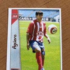 Cromos de Fútbol: # 264 AGÜERO ROOKIE CARD ATLÉTICO DE MADRID MUNDICROMO 2096 2007 06 07 PERFECTO ESTADO. Lote 220549572
