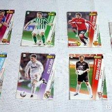 Cromos de Fútbol: LOTE DE 7 MEGACRACKS 12 13 - 2012 2013 MGK. Lote 220801015