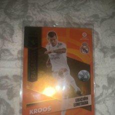 Cromos de Fútbol: EDICIÓN LIMITADA KROOS REAL MADRID MEGACRACKS 20 21. Lote 295549533