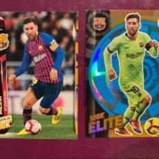 Cromos de Fútbol: PACK 2 LEO MESSI - MEGACRACKS 2019-20 #MESSIMANIA #LIONELMESSI #LEOMESSI. Lote 220848022