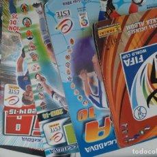 Cromos de Fútbol: OCASION, GRAN LOTE DE ALBUNES DE FUTBOL. Lote 220873135