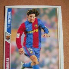 Cromos de Fútbol: CROMO / CARD Nº 47 MESSI DE LAS FICHAS DE LA LIGA 2007 2008 07 08 - ÁLBUM DE MUNDICROMO SPORT -. Lote 220947801