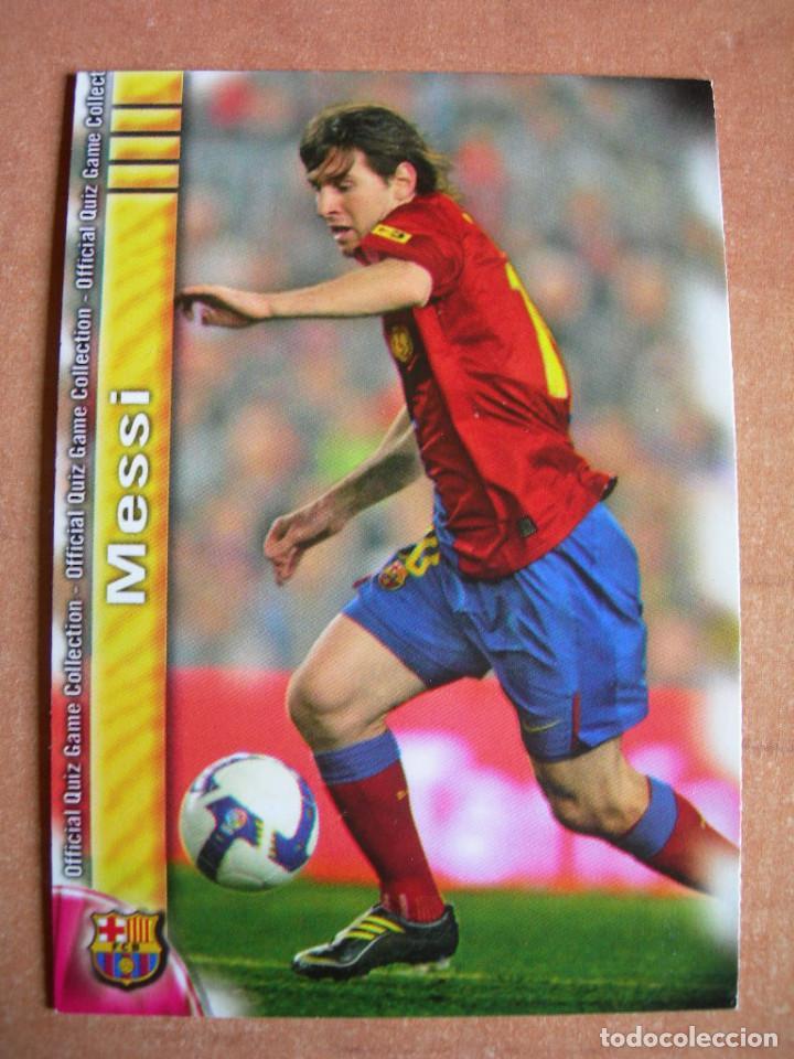CROMO / CARD Nº 18 MESSI OFFICIAL QUIZ GAME COLLECTION 2010 - ÁLBUM DE MUNDICROMO SPORT - (Coleccionismo Deportivo - Álbumes y Cromos de Deportes - Cromos de Fútbol)
