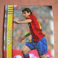 Cromos de Fútbol: CROMO / CARD Nº 18 MESSI OFFICIAL QUIZ GAME COLLECTION 2010 - ÁLBUM DE MUNDICROMO SPORT -. Lote 220949541