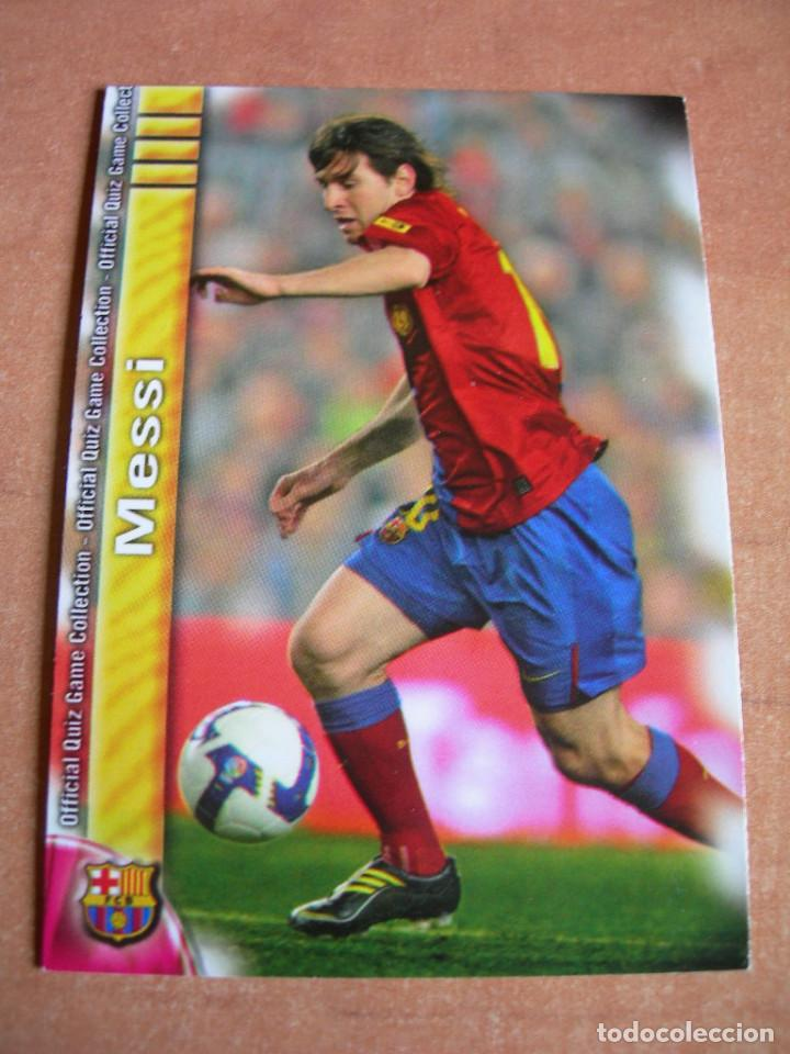 Cromos de Fútbol: CROMO / CARD Nº 18 MESSI OFFICIAL QUIZ GAME COLLECTION 2010 - ÁLBUM DE MUNDICROMO SPORT - - Foto 2 - 220949541