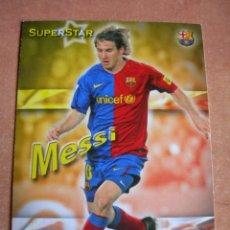 Cromos de Fútbol: CROMO / CARD Nº 27 MESSI SUPERSTAR OFFICIAL QUIZ GAME COLLECTION 2010 - ÁLBUM DE MUNDICROMO SPORT -. Lote 220976763