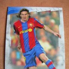 Cromos de Fútbol: CROMO / CARD Nº 74 MESSI DE LAS FICHAS DE LA LIGA 2008 2009 08 09 - ÁLBUM DE MUNDICROMO SPORT -. Lote 220977445