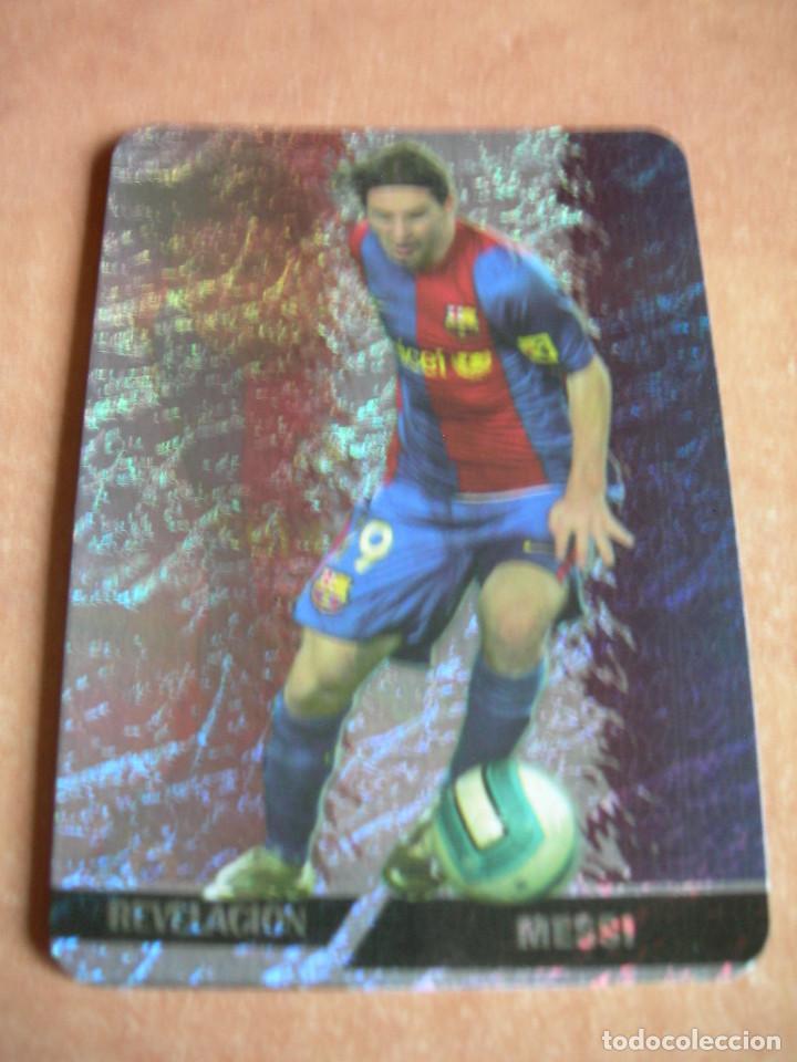 Cromos de Fútbol: CROMO / CARD Nº 542 MESSI REVELACIÓN LAS FICHAS DE LIGA 2006 2007 06 07 - ÁLBUM MUNDICROMO SPORT - - Foto 2 - 220978065