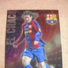 Cromos de Fútbol: CROMO / CARD Nº 80 MESSI BRILLO LISO LAS FICHAS DE LIGA 2008 2009 08 09 - ÁLBUM MUNDICROMO SPORT -. Lote 220978672