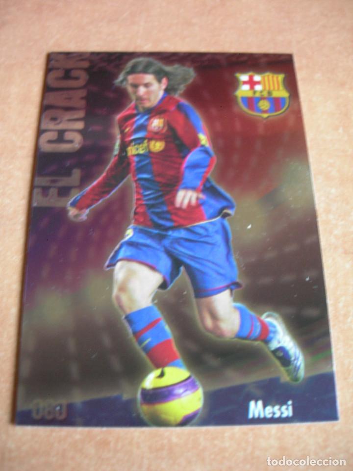 Cromos de Fútbol: CROMO / CARD Nº 80 MESSI BRILLO LISO LAS FICHAS DE LIGA 2008 2009 08 09 - ÁLBUM MUNDICROMO SPORT - - Foto 2 - 220978672