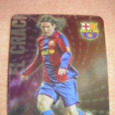 Cromos de Fútbol: CROMO / CARD Nº 80 MESSI BRILLO LISO LAS FICHAS DE LIGA 2008 2009 08 09 - ÁLBUM MUNDICROMO SPORT -. Lote 220978922