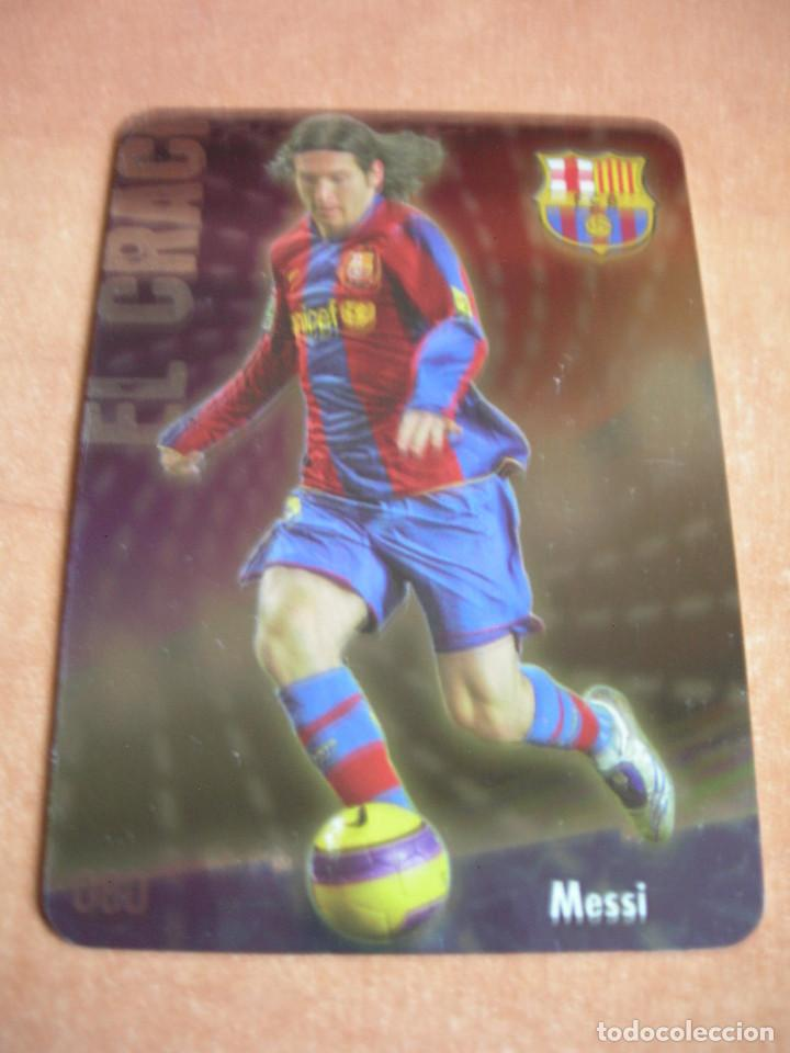 Cromos de Fútbol: CROMO / CARD Nº 80 MESSI BRILLO LISO LAS FICHAS DE LIGA 2008 2009 08 09 - ÁLBUM MUNDICROMO SPORT - - Foto 2 - 220978922