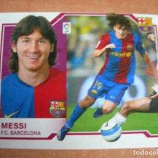 Cromos de Fútbol: CROMO MESSI F.C. BARCELONA DE LA LIGA EDICIONES ESTE TEMPORADA 2007 2008 07 08. Lote 220979436