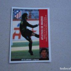 Cromos de Fútbol: PANINI LIGA 95 96 COLOCA RICARDO ATLETICO MADRID 1995 1996 NUEVO. Lote 221000520
