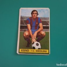Cromos de Fútbol: ASENSI - BARCELONA - CROMO EDICIONES ESTE 1974-75 - DESPEGADO - 74/75. Lote 131793390