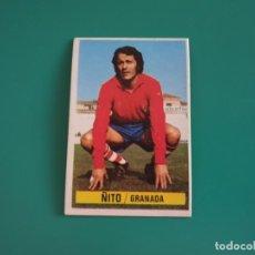 Cromos de Fútbol: ÑITO - GRANADA - CROMO EDICIONES ESTE 1974-75 - DESPEGADO - 74/75. Lote 131796086
