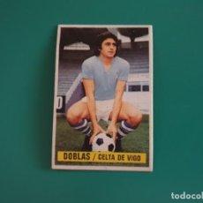Cromos de Fútbol: DOBLAS - CELTA - CROMO EDICIONES ESTE 1974-75 - DESPEGADO - 74/75. Lote 131796482