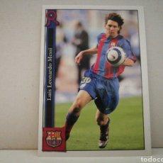 Cromos de Fútbol: MESSI TEMPORADA 05 06 FICHAS DE LA LIGA MUNDICROMO. Lote 221229452