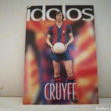 Cromos de Fútbol: CROMO JOHAN CRUYFF N°139 DE LA COLECCION BARÇA. Lote 221233343