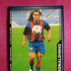 Cromos de Fútbol: 154 RONALDINHO, ROOKIE CARD - F.C. BARCELONA - MUNDICROMO 2004. Lote 221312276