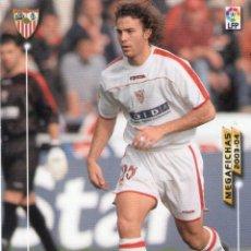Cromos de Fútbol: ÓSCAR (SEVILLA F.C.) - Nº 258 - MEGAFICHAS 2003/2004 - PANINI.. Lote 221366208