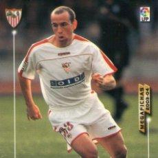 Cromos de Fútbol: TORRADO (SEVILLA F.C.) - Nº 262 - MEGAFICHAS 2003/2004 - PANINI.. Lote 221366736