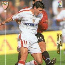 Cromos de Fútbol: REYES (SEVILLA F.C.) - Nº 268 - MEGAFICHAS 2003/2004 - PANINI.. Lote 221378871