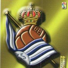 Cromos de Fútbol: ESCUDO DE LA REAL SOCIEDAD - Nº 271 - MEGAFICHAS 2003/2004 - PANINI.. Lote 221379181