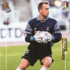 Cromos de Fútbol: WESTERVELD (REAL SOCIEDAD) - Nº 272 - MEGAFICHAS 2003/2004 - PANINI.. Lote 221379616