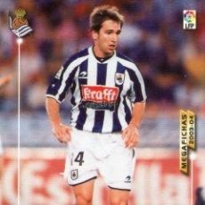 Cromos de Fútbol: LÓPEZ REKARTE (REAL SOCIEDAD) - Nº 273 - MEGAFICHAS 2003/2004 - PANINI.. Lote 221379725