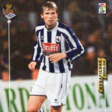 Cromos de Fútbol: KVARME (REAL SOCIEDAD) - Nº 274 - MEGAFICHAS 2003/2004 - PANINI.. Lote 221379825