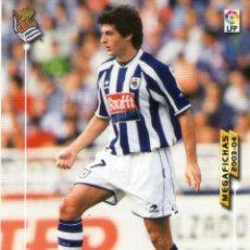 Cromos de Fútbol: JÁUREGUI (REAL SOCIEDAD) - Nº 275 - MEGAFICHAS 2003/2004 - PANINI.. Lote 221380885
