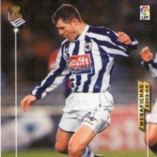 Cromos de Fútbol: SCHÜRRER (REAL SOCIEDAD) - Nº 276 - MEGAFICHAS 2003/2004 - PANINI.. Lote 221381007