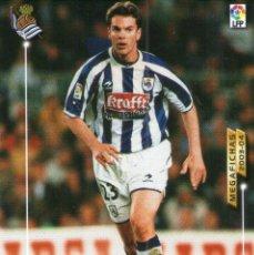 Cromos de Fútbol: BORIS (REAL SOCIEDAD) - Nº 277 - MEGAFICHAS 2003/2004 - PANINI.. Lote 221381115