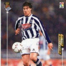 Cromos de Fútbol: XABI ALONSO (REAL SOCIEDAD) - Nº 279 - MEGAFICHAS 2003/2004 - PANINI.. Lote 221389250