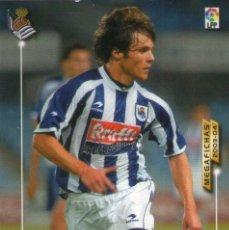 Cromos de Fútbol: MIKEL ALONSO (REAL SOCIEDAD) - Nº 281 - MEGAFICHAS 2003/2004 - PANINI.. Lote 221389631