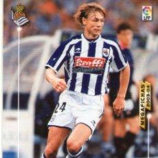 Cromos de Fútbol: KARPIN (REAL SOCIEDAD) - Nº 282 - MEGAFICHAS 2003/2004 - PANINI.. Lote 221389772