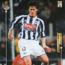Cromos de Fútbol: GABILONDO (REAL SOCIEDAD) - Nº 283 - MEGAFICHAS 2003/2004 - PANINI.. Lote 221391457