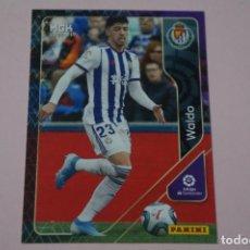 Cromos de Fútbol: CROMO CARD DE FÚTBOL WALDO DEL REAL VALLADOLID C.F. Nº 321 LIGA MEGACRACKS 2020-2021/20-21. Lote 221427803