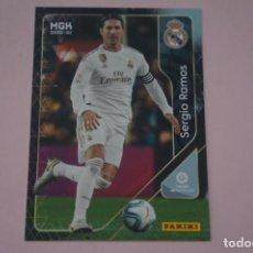 Cromos de Fútbol: CROMO CARD DE FÚTBOL SERGIO RAMOS DEL REAL MADRID C.F. Nº 223 LIGA MEGACRACKS 2020-2021/20-21. Lote 221428176