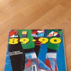 Cromos de Fútbol: ÁLBUM 89 90 1989 1990 LIGA ESTE. Lote 221463166