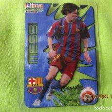 Cromos de Fútbol: MESSI 015. CRYSTALCARDS. LIGA 2006 2007. F.C. BARCELONA 2006 07 + REGALO DE SU SOBRE VACIO. Lote 221508035