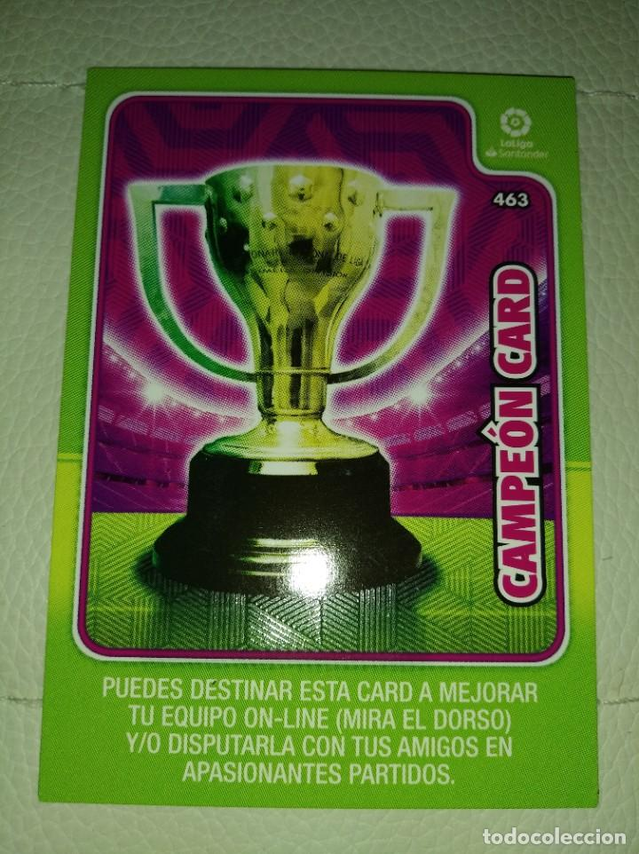 ADRENALYN XL 2019- 2020 ( 2 CAMPEON CARD) (Coleccionismo Deportivo - Álbumes y Cromos de Deportes - Cromos de Fútbol)