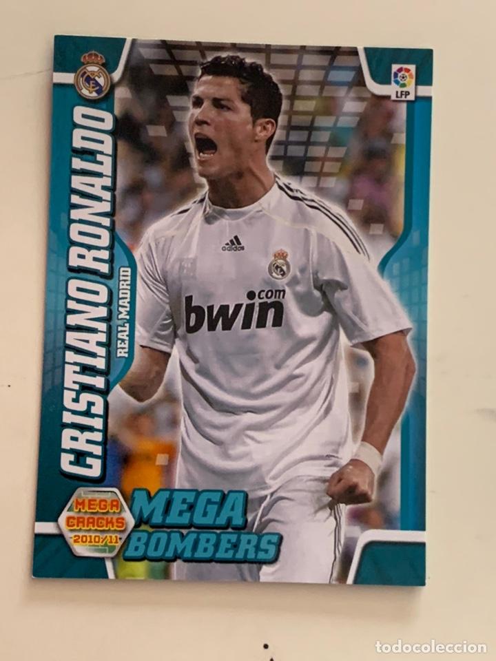 PANINI CROMO CRISTIANO RONALDO MEGACRACKS 2010 2011 10 11 MEGA BOMBERS 399 (Coleccionismo Deportivo - Álbumes y Cromos de Deportes - Cromos de Fútbol)