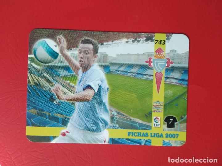 Cromos de Fútbol: FICHAS LIGA 06 07 MUNDICROMO MC TOP PLATINUM 2006 2007 BRILLO LISO Nº 743 NENE CELTA DE VIGO - Foto 2 - 221514665