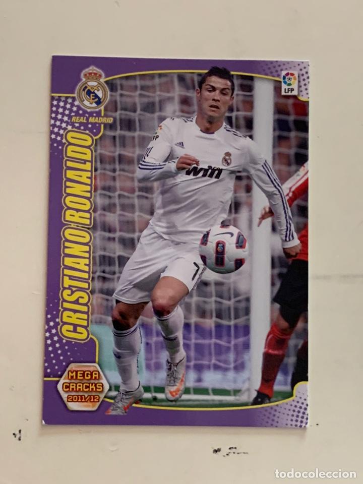 MEGACRACKS 2011 2012 PANINI CRISTIANO RONALDO Nº 160 REAL MADRID (Coleccionismo Deportivo - Álbumes y Cromos de Deportes - Cromos de Fútbol)